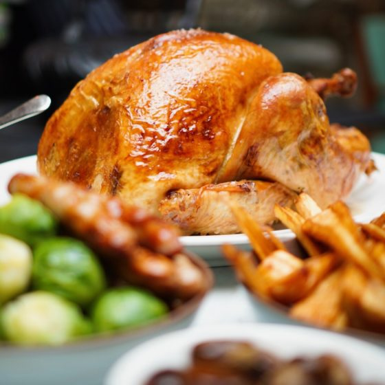 Christmas Turkey at The English House by Marco Pierre White, Singapore
